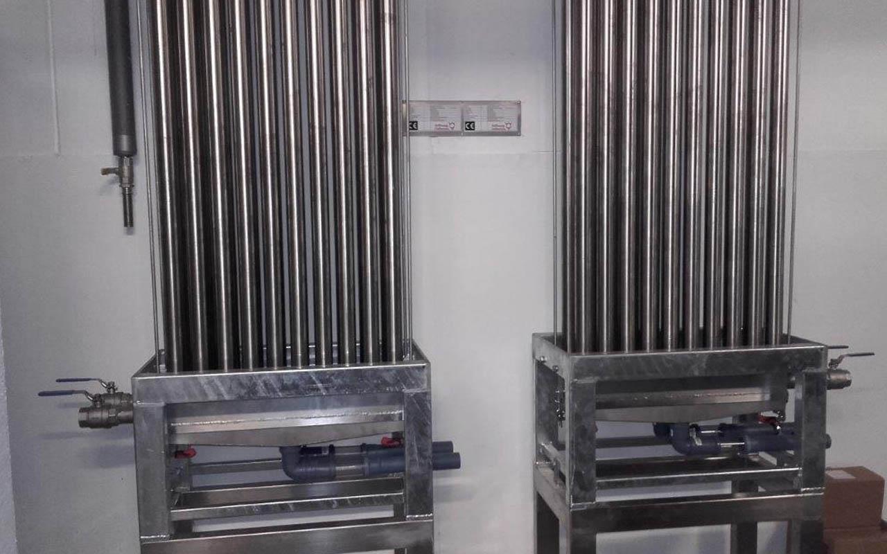 Energieeinsparung Wärmetauscher Dettling