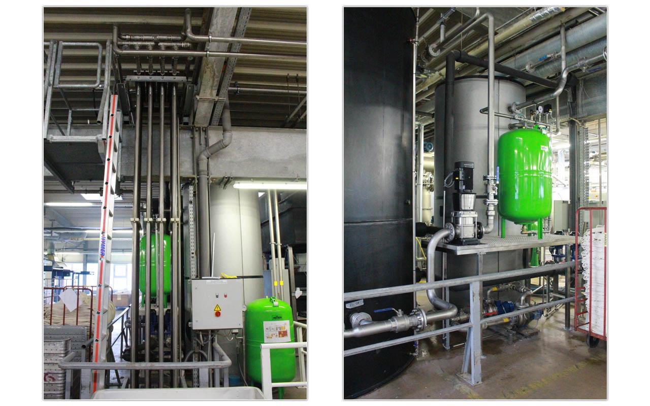 Wärmetauscher im Einsatz Liegl Industriewärmetauscher